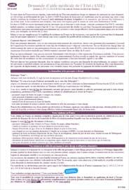 formulaire AME volet 1